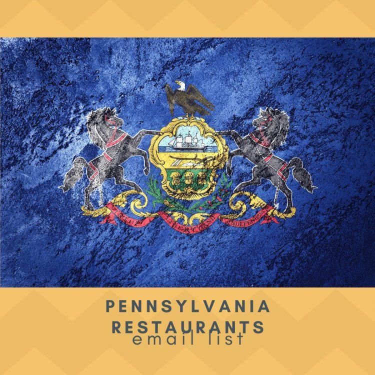 Pennsylvania Restaurants Email List