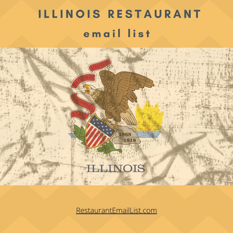 Illinois Restaurants Email List