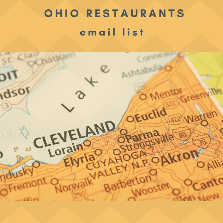 Ohio Restaurants Email Database