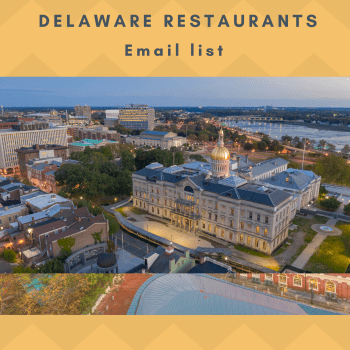 Delaware Restaurants Email and Mailing list