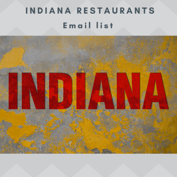 INDIANA Restaurants Email and Mailing list