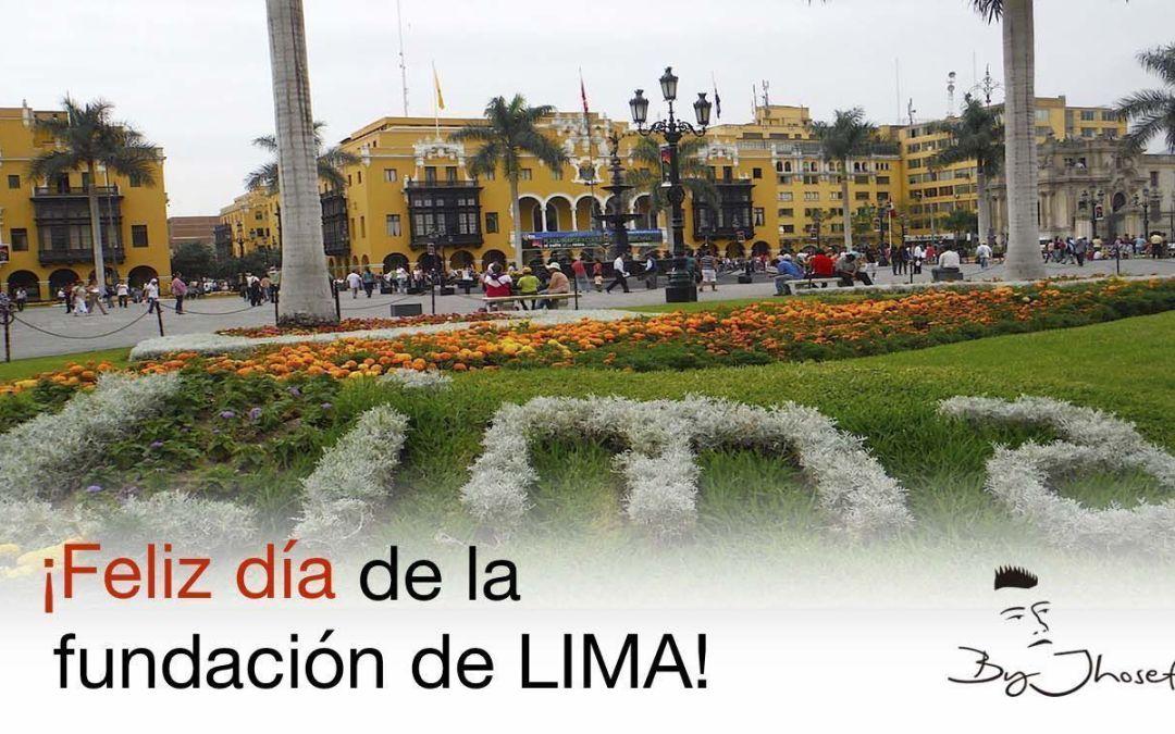 El 18 de enero de 1535 se fundó la Ciudad de Lima (Perú)