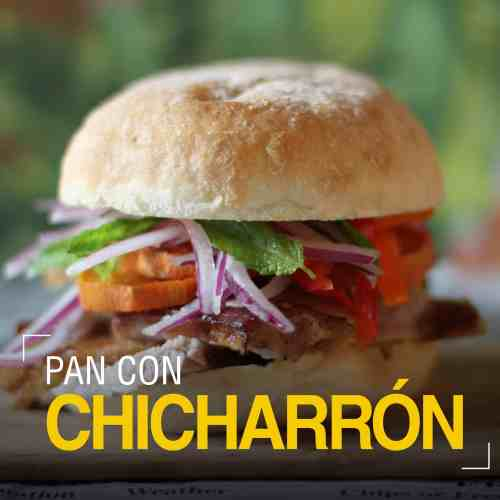 PAN CON CHICHARRON