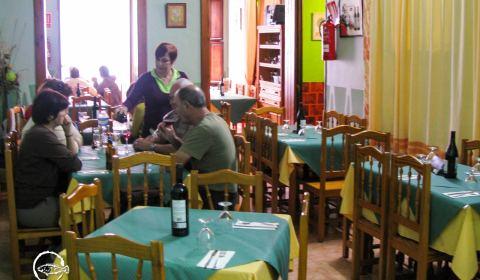 Comedor interior del Restaurante San Andrés · La Palma