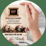 Restaurante Tortelli - Bonos corporativos