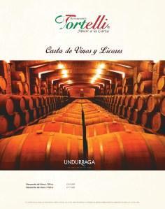 portada carta vinos Tortelli