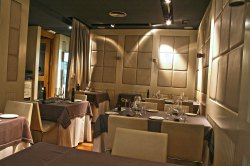 El comedor de Restaurante Viavélez Madrid