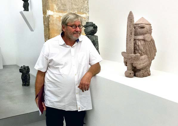 Benoit Janson, restaurateur d'œuvres d'art à Paris