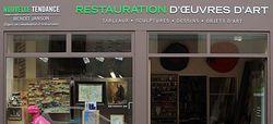Benoit Janson Atelier Nouvelle Tendance Restauration de Tableaux à Paris France