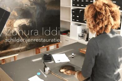 Schilderijenrestaurator Zuhura Iddi- Introductiefilm 2