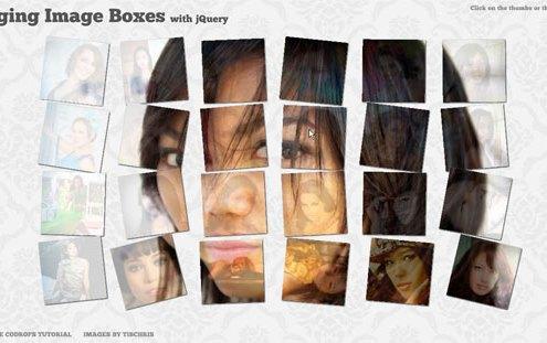 Galerie d'images avec jQuery