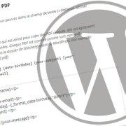 Tutoriel WordPress : l'extension Send PDF for Contact Form 7