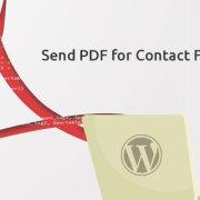 Améliorations Send PDF for CF7