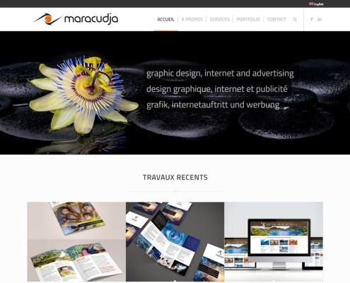 Maracudja, P.Desachy | Graphisme, web design et publicité