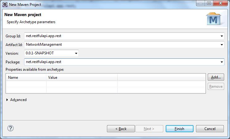 Create Maven Application - Step 4