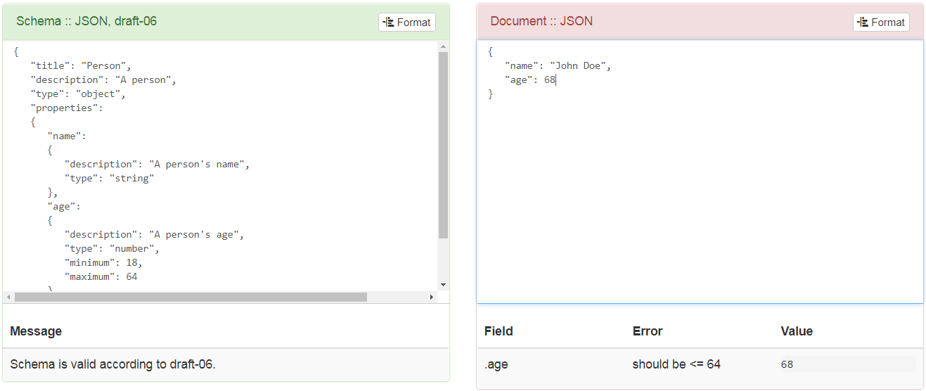 Invalid JSON