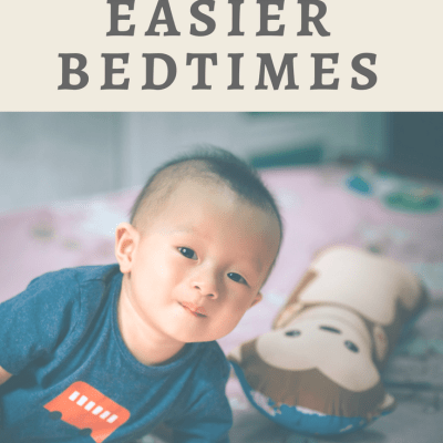 3 Tips for Easier Bedtimes