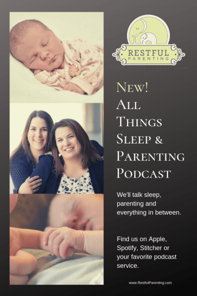 New! All Things Sleep and Parenting Podcast