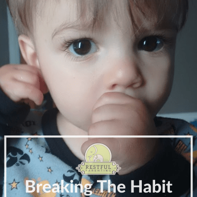 How We Helped Our Little One Break The Habit Of Thumb Sucking