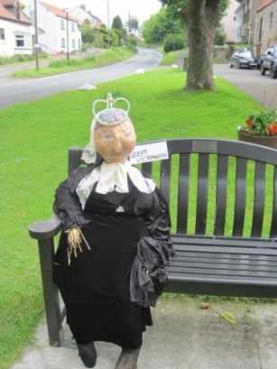 A wooden bench fit for Queen Victoria
