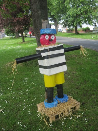 But Bertie Bassett was right there on the village green