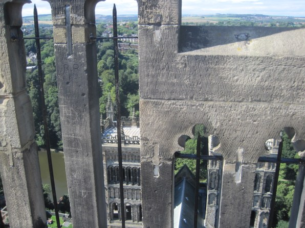 The views were wonderful up on the Cathedral roof.