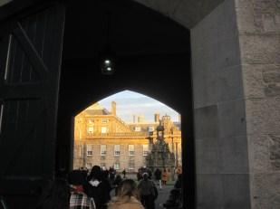 Just a peep through the gateway