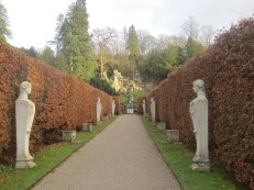 And another beech hedge leads to the Rock garden.
