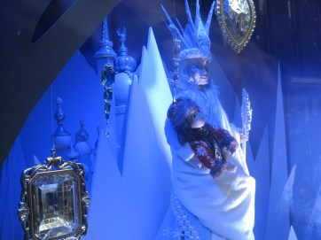And the Ice Queen, with a foundling?