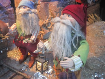 And, of course, the gnomes in Santa's workshop.