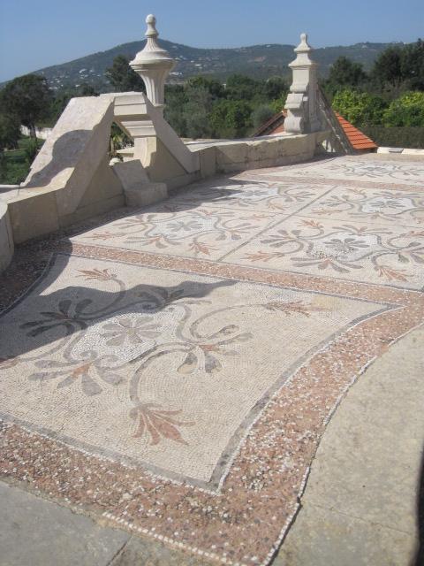 The mosaics were beautiful too