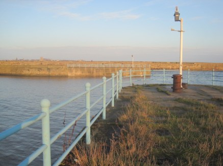 And the old pier