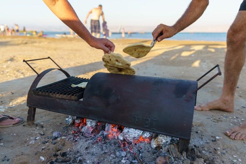 beach-baked pita
