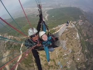 Paragliding above Phewa Tal, Pokhara