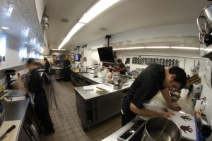 Moto's kitchen/Photo: Michael Silberman