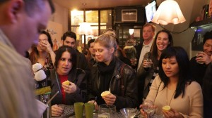 At a Miracle Berry pop-up event in New York/Photo: Michael Silberman