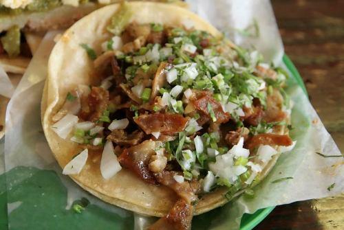 Tripe taco, courtesy Ron Kaplan, LTHForum.com