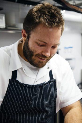 Chef Josh Stockton, photo Gold Cash Gold