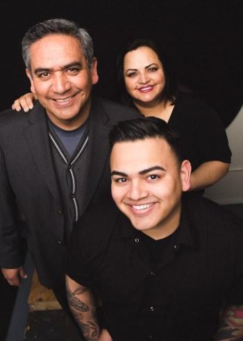 John-Juan, Norma and Jonathan Zaragoza/ Photo: Joe Mazza/Brave Lux