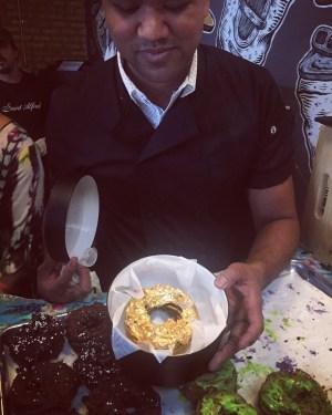 It's a golden donut/Photo: Rosemary Lane
