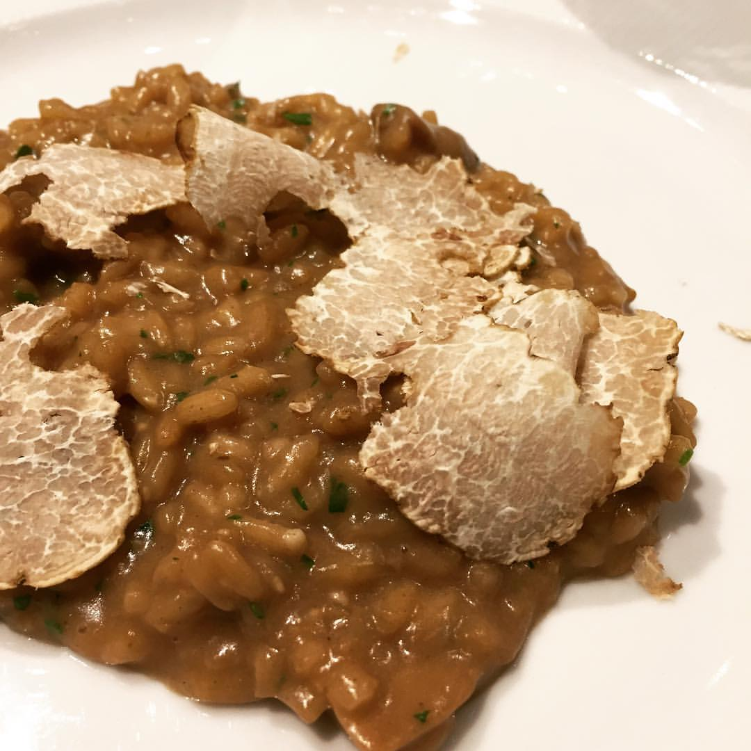 Risotto with...you guess it, at Il Tartuffo/Photo: David Hammond