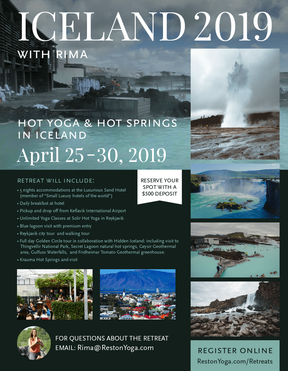 Hot Yoga & Hot Springs In Iceland