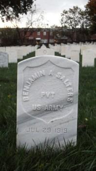Click for Find-A-Grave Memorial: Benjamin Salters