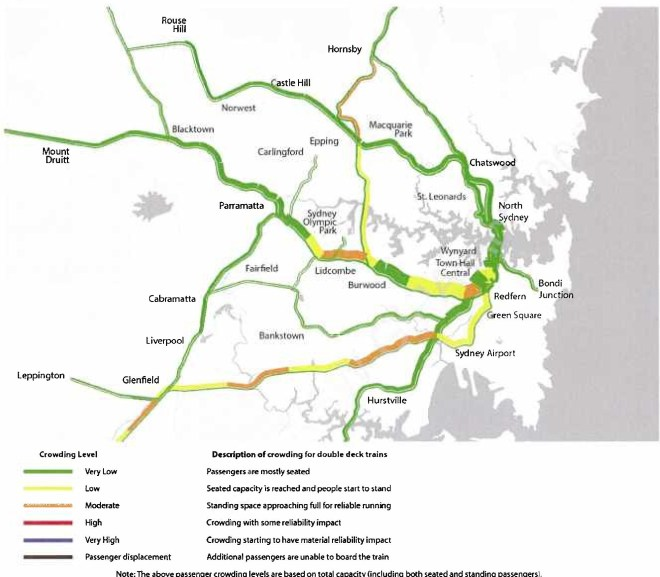 Transport for NSW predicts Homebush – Lidcombe to become overcrowded