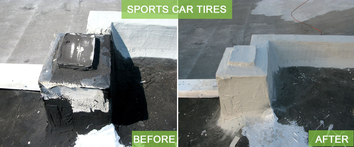 ROOF LEAKS RESTORE IT SLIDER_SPORTS CAR TIRES