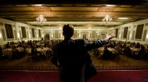 Treasurer Ted Wheeler gave the keynote speech at the Restoration Celebration where the 2014 DeMuro Awards were announced. (photo: Drew Nasto)