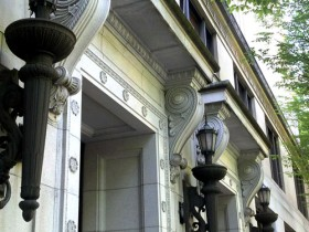 Multnomah County Courthouse detail