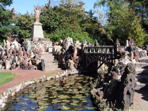 Petersen Rock Garden was listed as one of Oregon's Most Endangered Places in 2011 for its deteriorating condition. (Restore Oregon Photo)