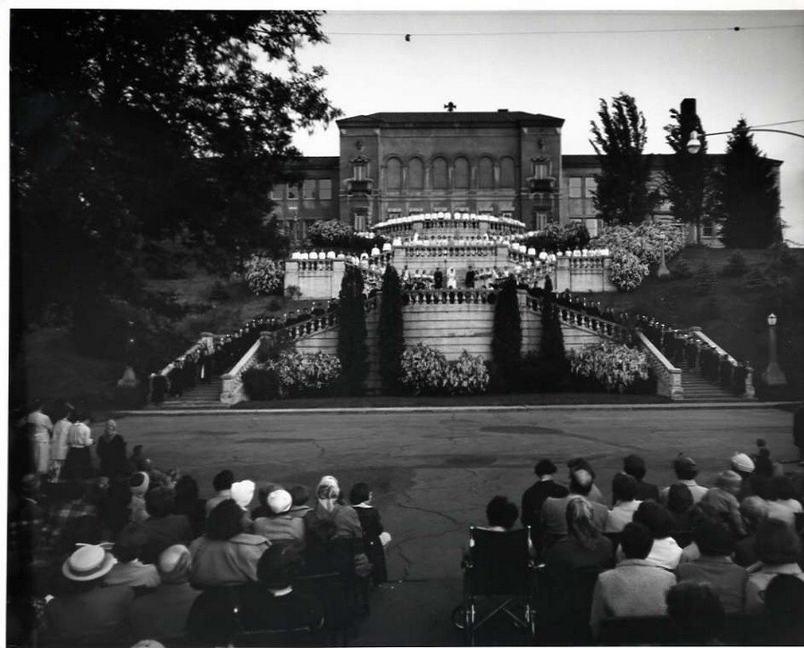 1956 Evensong Graduation