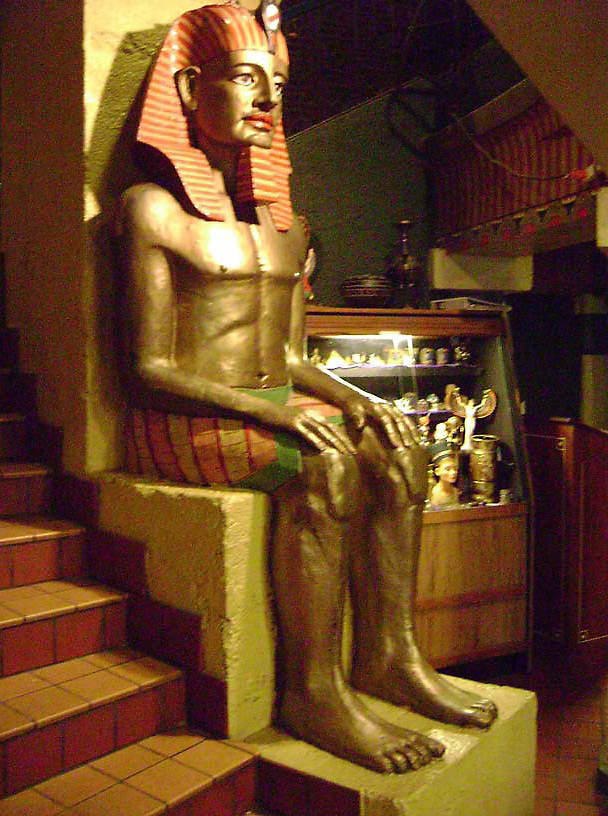 Interior Decoration, Egyptian Theatre, Coos Bay